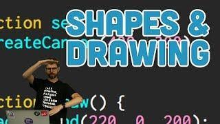 1.3: Shapes & Drawing - p5.js Tutorial