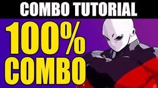Dragon Ball FighterZ - JIREN 100% Combo Tutorial - Easy!