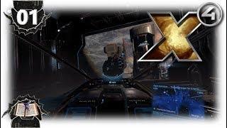 X4: Foundations – #01 Ein quasi Quick-Start Tutorial + Erste Hauptstory Quest |Gameplay|Deutsch|