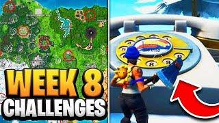 Fortnite Season 8 Week 8 Challenges GUIDE! How to Do Week 8 Challenges in Fortnite - Tutorial