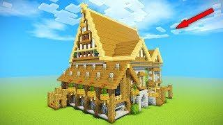 Minecraft Tutorial: EPIC Medieval House Tutorial | How to make a big house | (Rustic) 2016