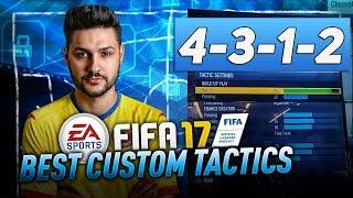 FIFA 17 40/40 FUTCHAMPIONS FORMATION TUTORIAL BEST CUSTOM TACTICS & INSTRUCTIONS - HOW TO PLAY 4312