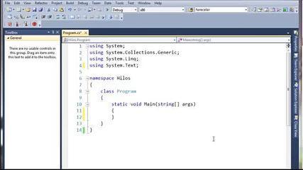 Tutorial Basico De Hilos En C#