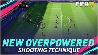 FIFA 19 NEW OVERPOWERED SHOOTING TECHNIQUE - THE NEAR POST DRIVEN SHOT TIMED FINISHING !!! TUTORIAL