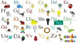 Çocuklar Için Türkçe Alfabe - Turkish Alphabet For Children