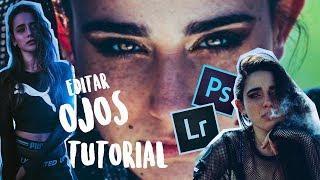 Como editar los OJOS en las fotos TUTORIAL | BANNANITAS