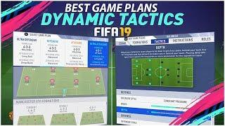 FIFA 19 DYNAMIC TACTICS TUTORIAL + BEST GAME PLANS - NEW CUSTOM TACTICS COMPLETE TUTORIAL