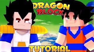 DRAGON BLOCK C TUTORIAL / SHOWCASE | (Minecraft Dragon Ball Z Mod Showcase)