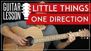 Little Things Guitar Tutorial - One Direction Guitar Lesson