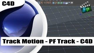 PFTrack To (para) Cinema 4D - Tutorial - Português - F.P