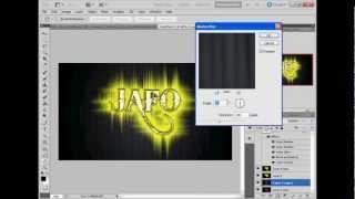 Photoshop Tutorial - Glow Effect (Hebrew)