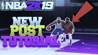 NBA 2K19 NEW POST CONTROLS TUTORIAL