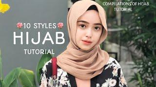 10 STYLES|| QUICK & FAST|| HIJAB TUTORIAL|| MOST STUNNING & STYLISH !||