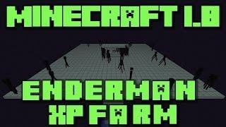 Minecraft 1.8: Enderman XP Farm Tutorial - Super Fast And Cheap