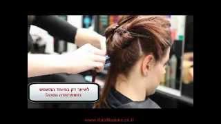 Hair Masters החלקת קראטין לפני ואחרי + הוראות בתרגום עברית