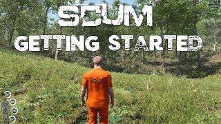 SCUM - Getting Started Tutorial - Beginners Guide