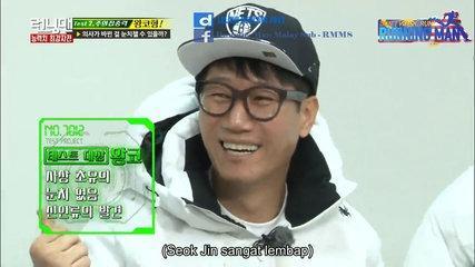 Running Man Funny Moment #18 - Kelembapan Seok Jin [Malay Sub]