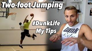 How to Jump Off Two feet to DUNK! #DunkLife Tutorial Steven Celi