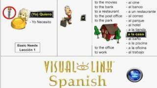 Learn Spanish - Lesson 1 - Basic Needs