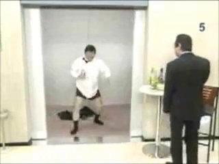 Funny Japanese  Weird Elevator