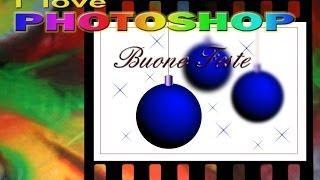 Photoshop Tutorial Italiano - Cartolina Di Natale 2013