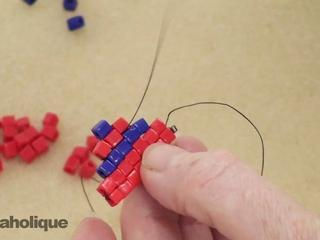 How To Perform Decreases In Square Stitch Bead Weaving