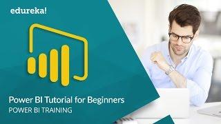 Power BI Tutorial For Beginners | Introduction to Power BI | Power BI Training | Edureka