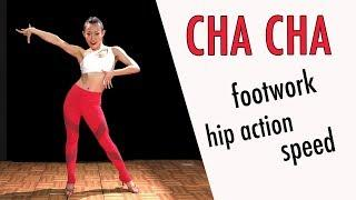 Intermediate CHA CHA Steps - Cucaracha & Turn Dance tutorial  | Footwork Friday (Ep 17)