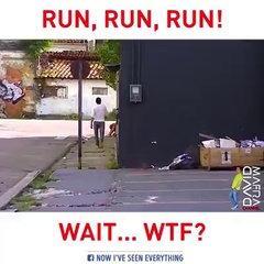 funny run prank ever
