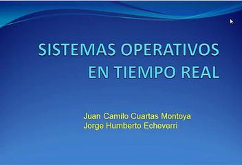 Tutorial De Sistemas Operativos En Tiempo Real.avi