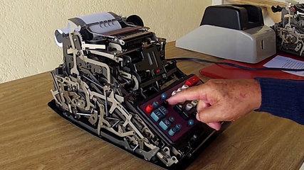 Calculadora Divisumma 24 Olivetti - Tutorial com Raul