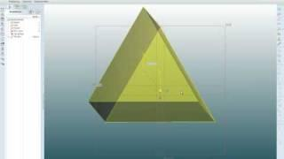 Creo Elements/Pro; Pro/E WF5: Basic Geometry Tutorial - Part 1 Of 2
