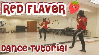 Red Velvet 레드벨벳_빨간 맛 (Red Flavor) - DANCE TUTORIAL