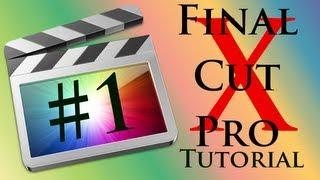 Final Cut Pro X - Lithuanian Tutorial HD | #1