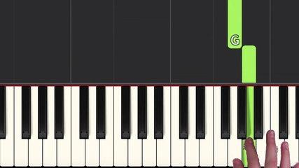 How to play 'VIVI`S THEME' from Final Fawentasy IX  (Synthesia) [Piano Video Tutorial] [HD]