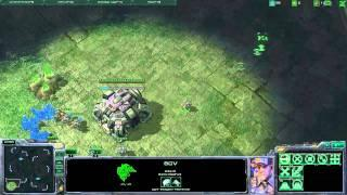 Hebrew SC2 Tutorials - Game Options And Basic Terran Macro