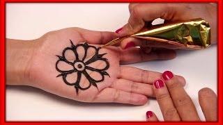 2 Simple Arabic Mehndi Design Tutorials For Beginners