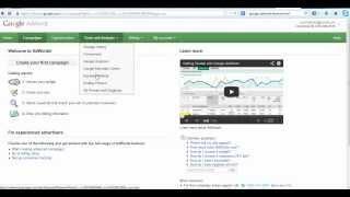Google Adwords And Keyword Planner Tutorial - A Beginner's Guide To Targeting Keywords
