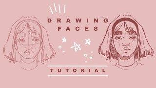 How I Draw Faces | Drawing Tutorial
