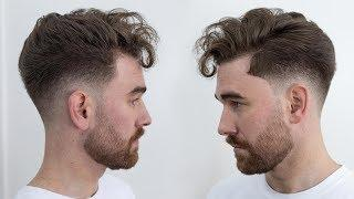 Loose Quiff with a Low Skin Fade | Rum Barber Tutorial