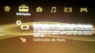 TUTORIAL - Como Conectar O PS3 Na Internet - Português