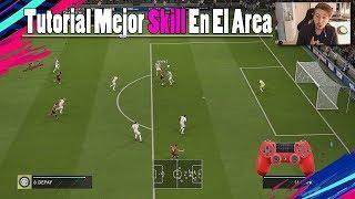 FIFA 19 Mejor Regate Dentro Del Area TUTORIAL - El Mejor Regate Para Driblar El Defensa CPU