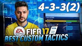 FIFA 17 4-3-3 TUTORIAL BEST CUSTOM TACTICS & PLAYER INSTRUCTIONS -HOW TO PLAY 4-3-3(2) TIPS & TRICKS