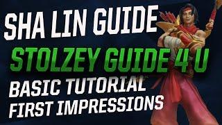 PALADINS SHA LIN GUIDE - NEW CHARACTER BASIC TUTORIAL - A PRO PLAYER'S FIRST IMPRESSION
