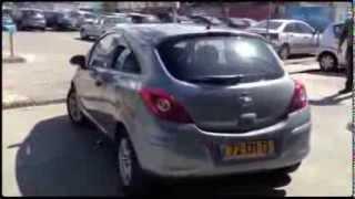 לוח רכב קארספלייס-052-7037833 סוכנות רכב מאסטרקאר בראשון לציון -אופל קורסה 2012 Opel Corsa