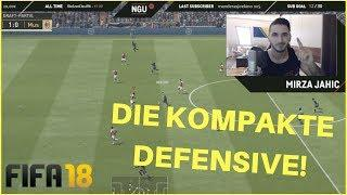 DIE KOMPAKTE DEFENSIVE IN FIFA 18 | TUTORIAL | SO STEHT IHR WIE EIN FELS - RELOADED! | ULTIMATE TEAM