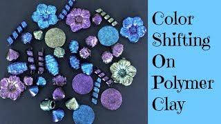 Polymer Clay Tutorial NEW Dragonfly Glaze On PC Beads For A Magical Color Shift Effect plus Giveaway