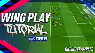 HOW TO SCORE FROM THE WINGS - Fifa 19 Wing Play Tutorial - Best Way To Score