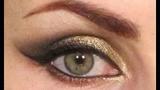 'Festive Feline' Arabic/ 'Cat Eye' Party Makeup Tutorial.