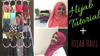 Hijab Tutorial Plus Hijab Haul/5 Different Styles/My Abaya or Pardha/On Viewer's Request